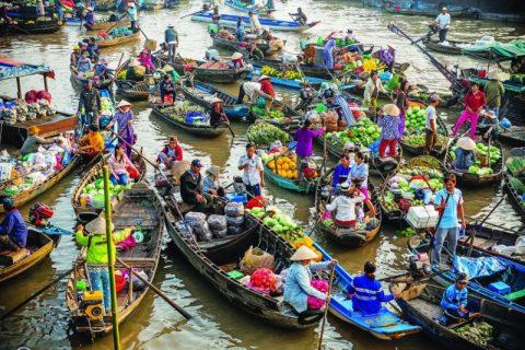 Độc đáo 5 chợ nổi miền Tây Nam Bộ   Cảnh Đẹp Blog