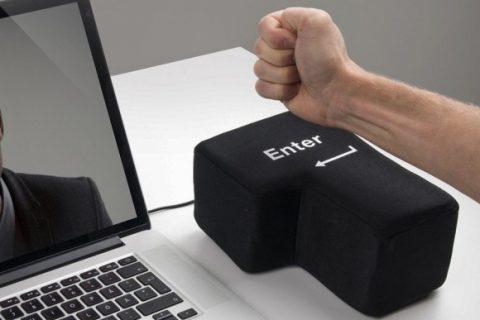 Đừng đập bàn phím, lúc 'khó ở' hãy trút giận lên …nút Enter - JAPO - Cổng  thông tin Nhật Bản