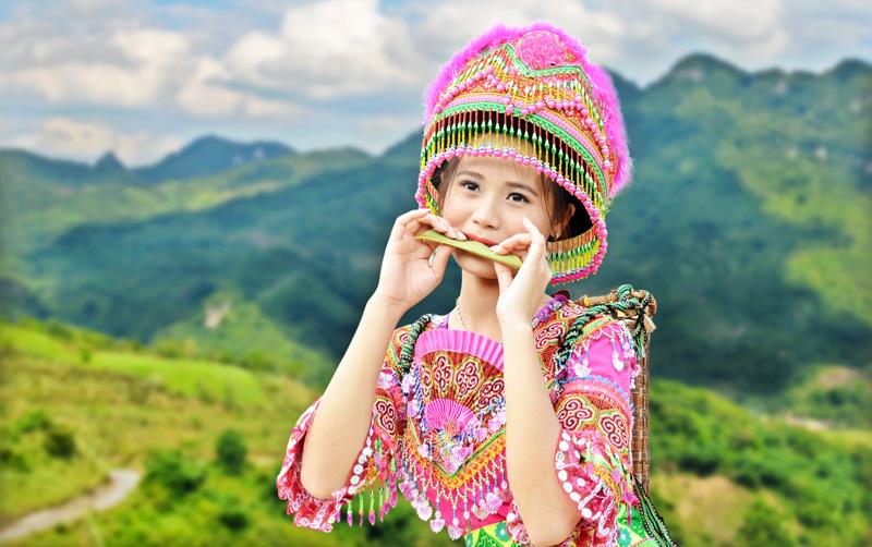 Độc đáo kèn lá của người Mông | Báo Dân tộc và Phát triển