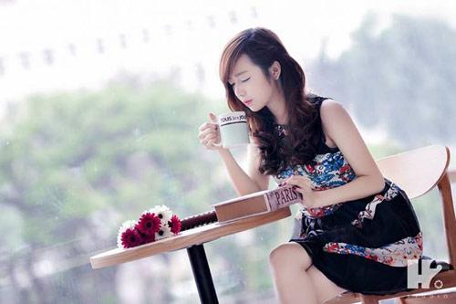100+ hình ảnh cô gái uống cà phê một mình - hinhanhsieudep.net