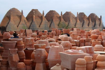 Làng nghề gốm đổ tại Vĩnh Long