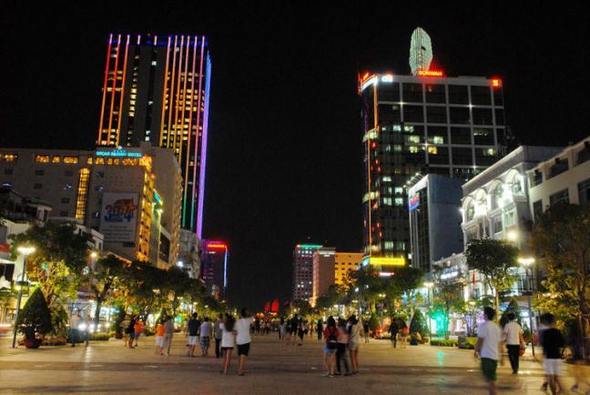 Hình ảnh đường phố Sài Gòn, Hà Nội đẹp | VFO.VN