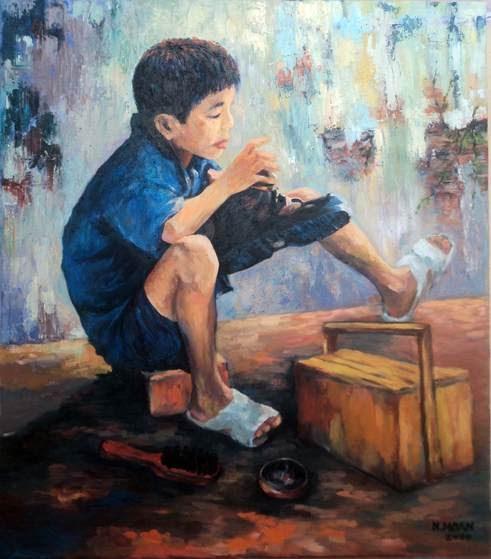Blog muôn màu: Cậu bé đánh giày