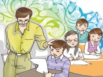 Hãy tả lại thầy em lúc đang say sưa giảng một môn học nào đó | Văn mẫu lớp 5
