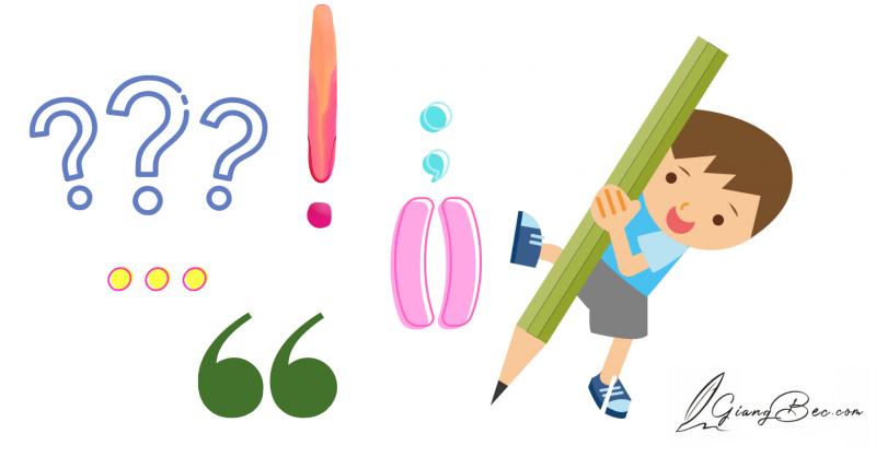 Cách sử dụng dấu câu trong soạn thảo văn bản - Ví dụ cụ thể - Giang Béc