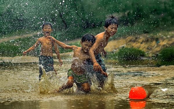 Trò chơi trẻ con thời xưa - Tri Thức - Tài Nguyên