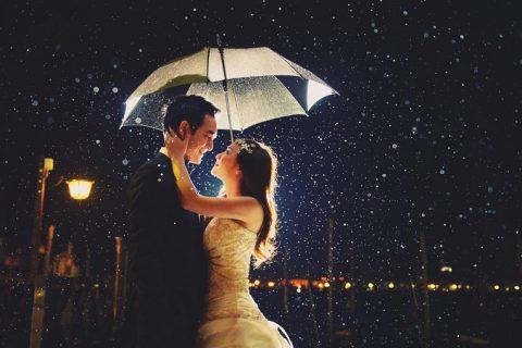 Trời mưa có chụp hình cưới được không? Chụp hình cưới phim trường ấn tượng