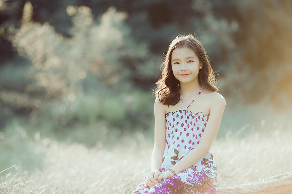 Đón năm học mới rực rỡ cùng cô bé 10 tuổi xinh xắn