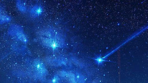 Hình nền những vì sao lấp lánh giữa bầu trời đêm | Galaxy wallpaper, Bầu  trời, Hoàng hôn
